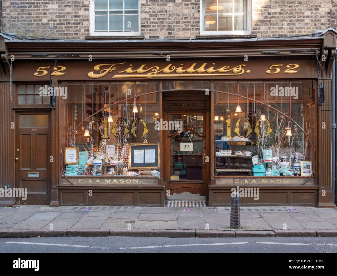 The Fitzbillies cafe shop and restaurant in Cambridge UK Stock Photo