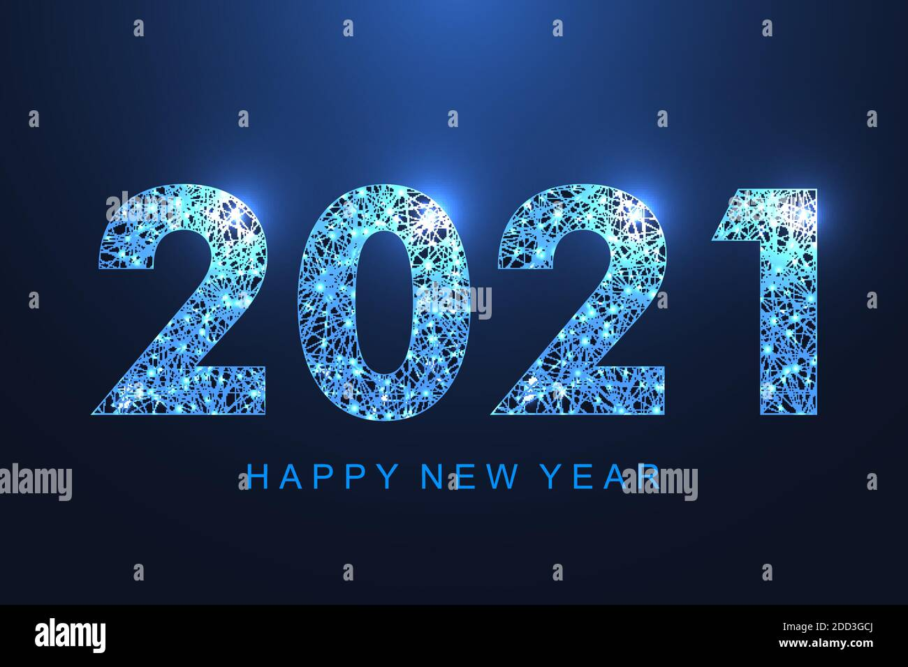 2021 Christmas Technology Merry Christmas And Happy New Year 2021 Greeting Card Modern Futuristic Template For 2021 Digital Data Visualization Business Technology Concept Stock Vector Image Art Alamy