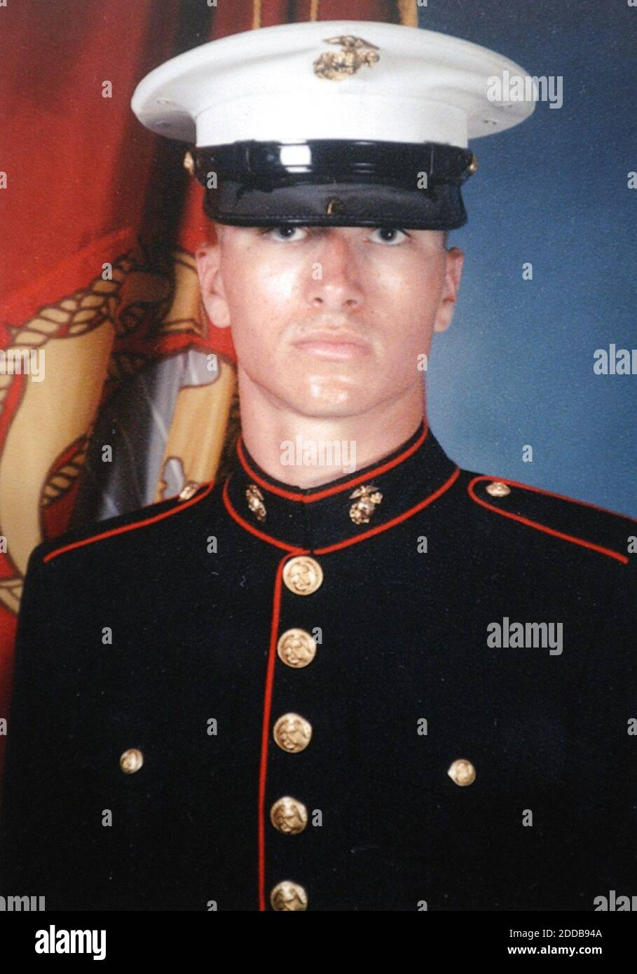 NO FILM, NO VIDEO, NO TV, NO DOCUMENTARY - Undated picture of U.S. Marine Pfc. Ryan Jerabek was one of the Marines of Echo Company, 2nd Battalion 4th Marines killed in April 2004 in fighting in Ramadi, Iraq. Photo courtesy the Jerabek family/Philadelphia Inquirer/KRT/ABACA. Stock Photo