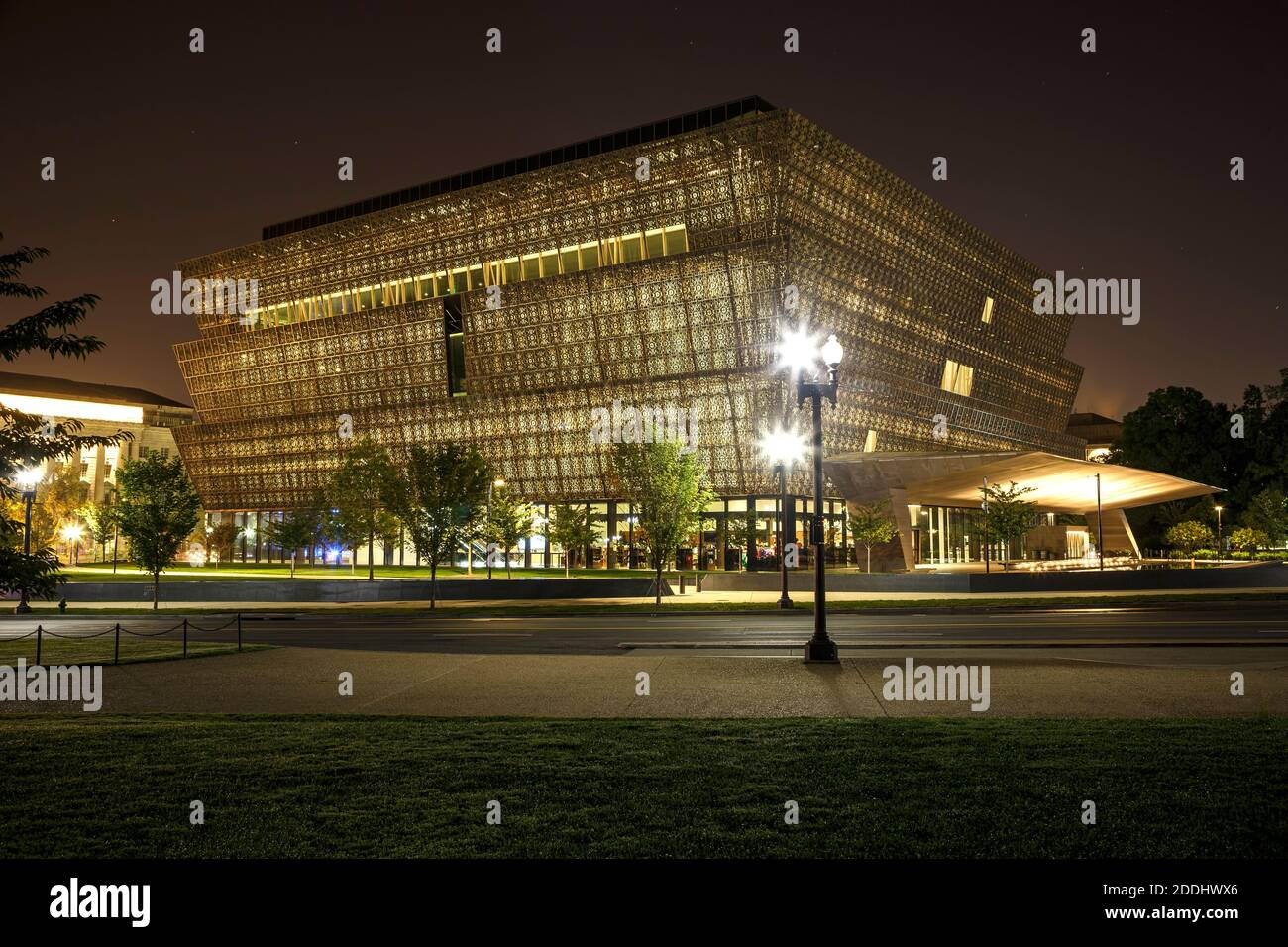 Smithsonian National Museum of African American History and Culture, Washington, District of Columbia USA Stock Photo