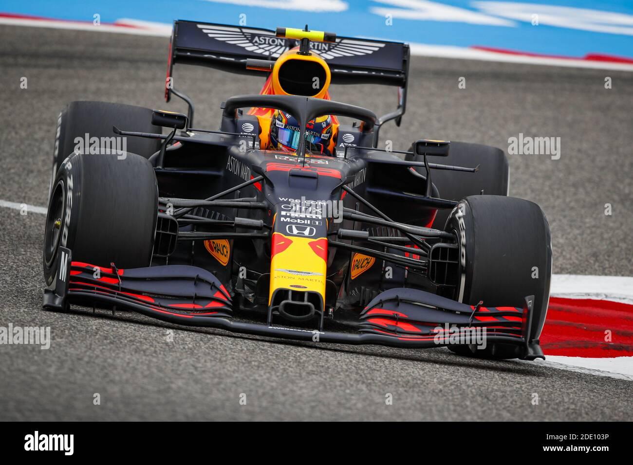 Albon Alexander Tha Aston Martin Red Bull Racing Honda Rb16 Action During The Formula 1 Gulf