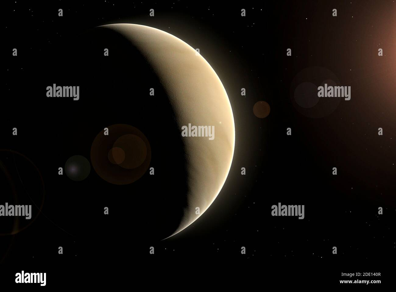 Artwork of Venus Stock Photo