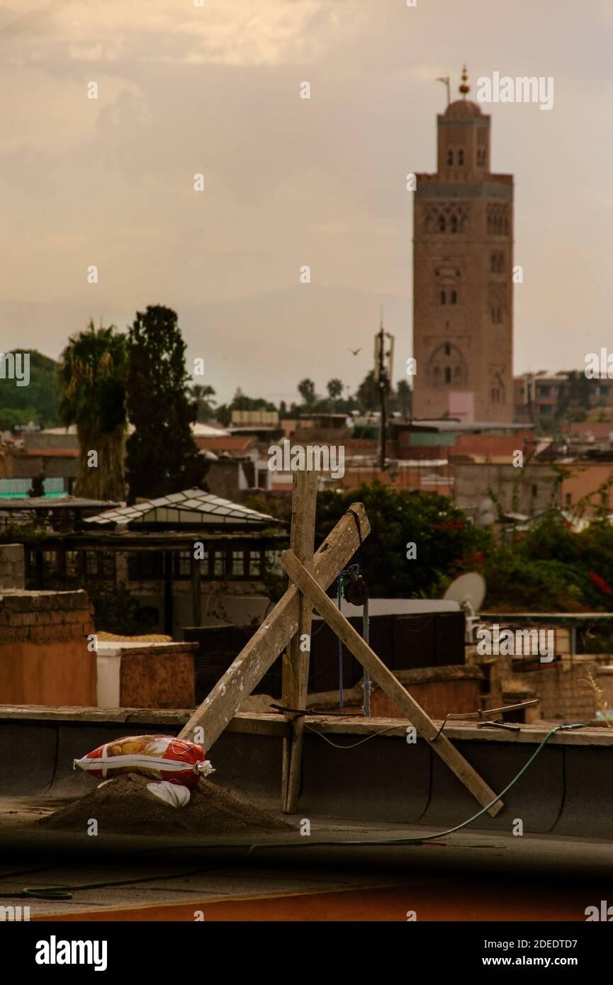 heritatge of Marrakesh Stock Photo