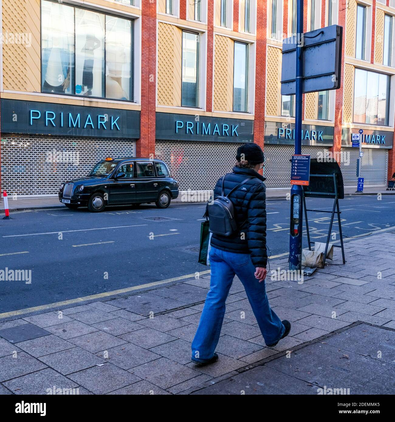 London UK, December 01 2020, Primark Discount Fashion Chain Closed Due To COVID-19 Pandemic Lockdown Stock Photo