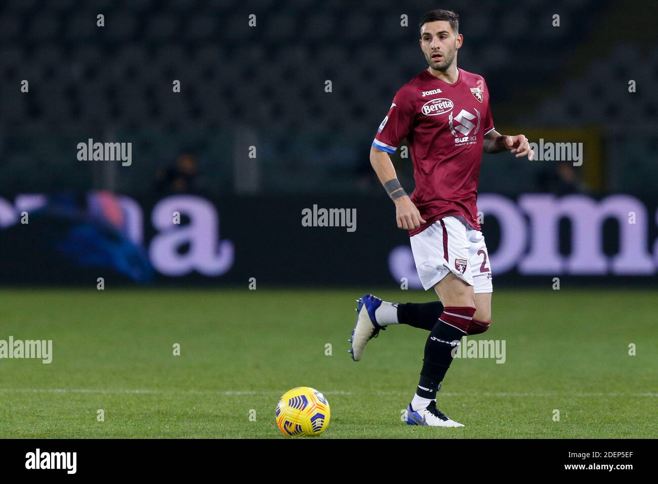 Nicola Murru (Torino FC) during Torino FC vs UC Sampdoria, Italian football Serie A match, Turin, Italy, 30 Nov 20 - Photo .LM/Francesco Scaccianoce Stock Photo