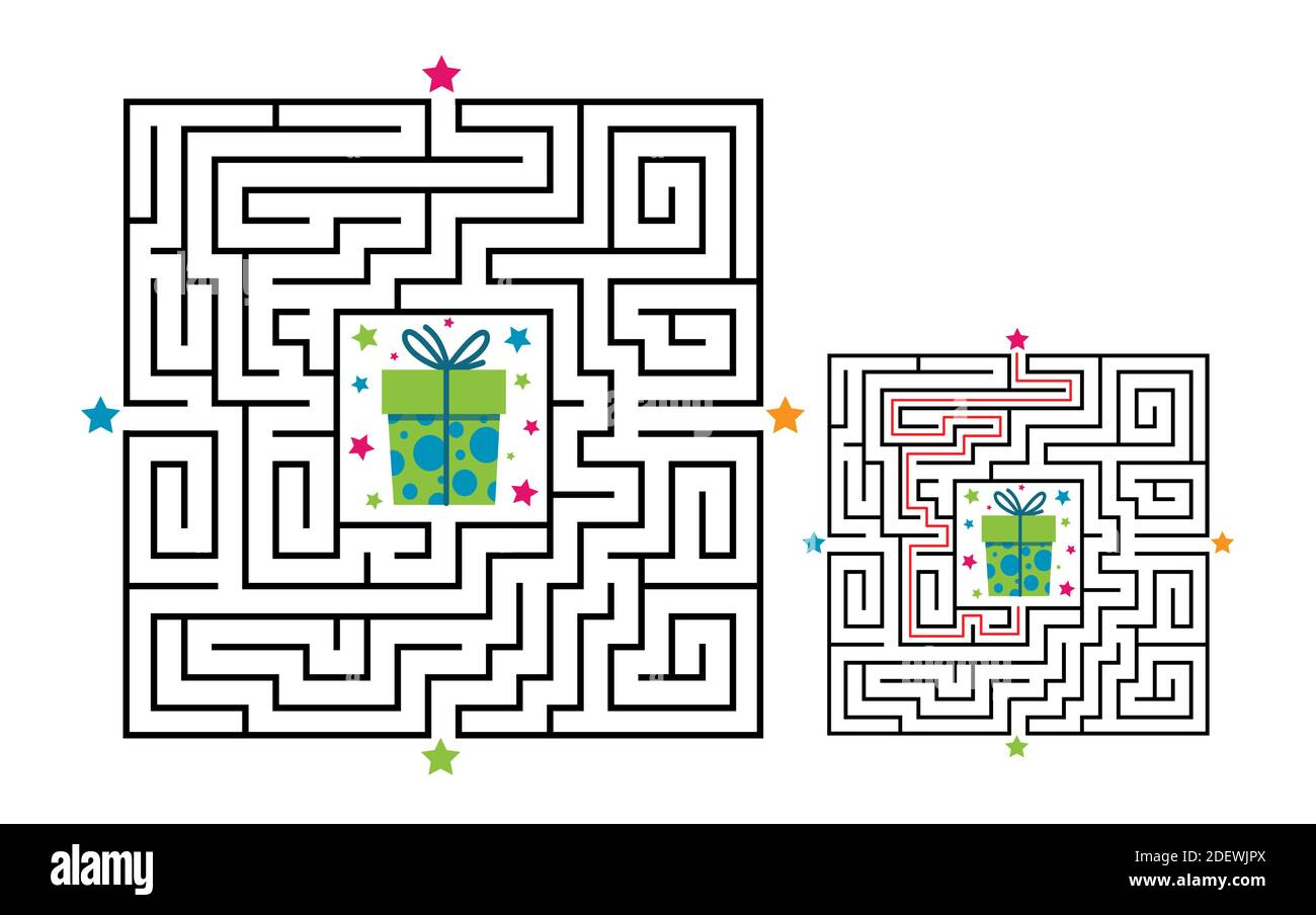 Page 3 Path Maze Activity Kids High Resolution Stock Photography And Images Alamy [ 904 x 1300 Pixel ]