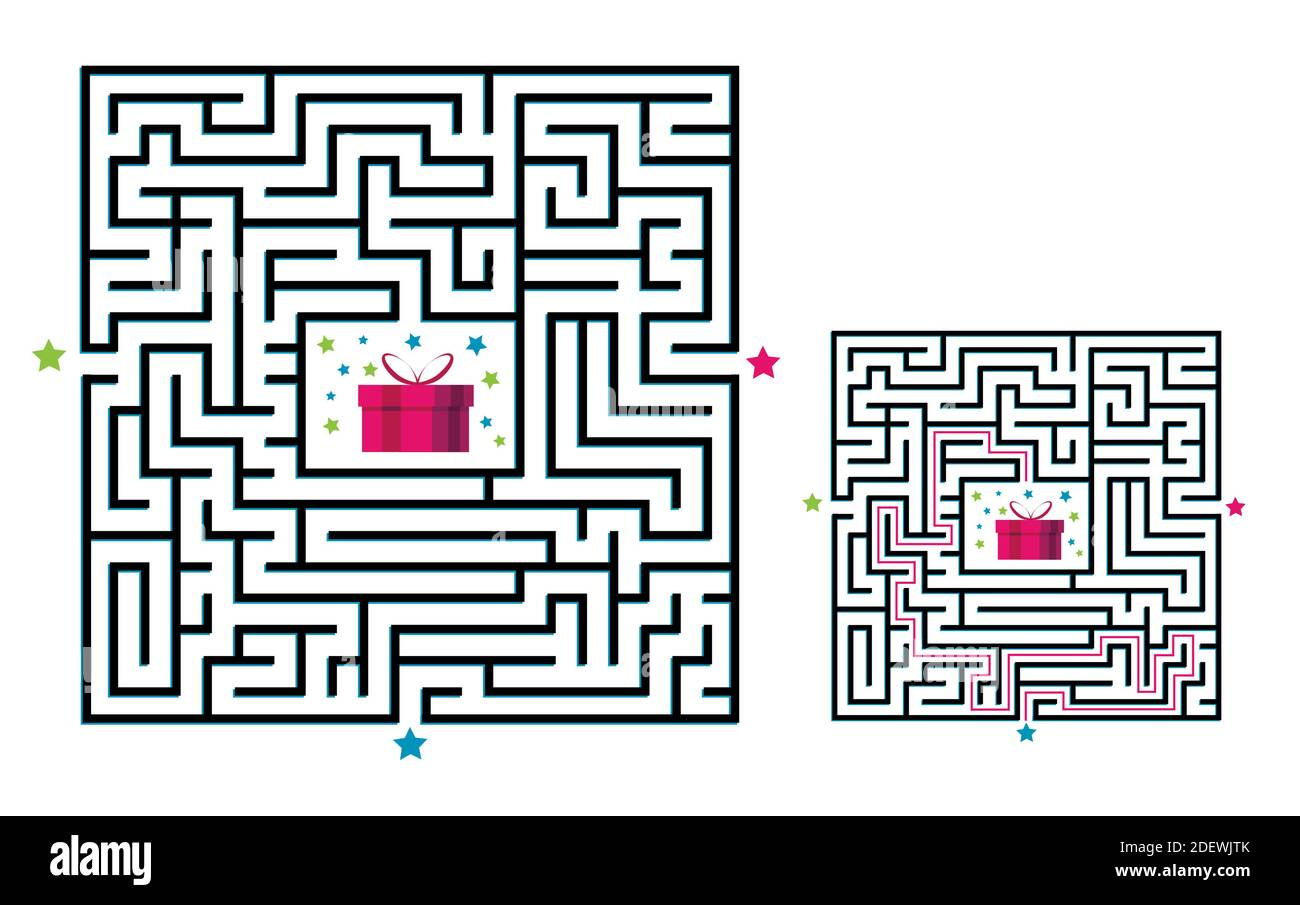 Page 3 Path Maze Activity Kids High Resolution Stock Photography And Images Alamy [ 905 x 1300 Pixel ]