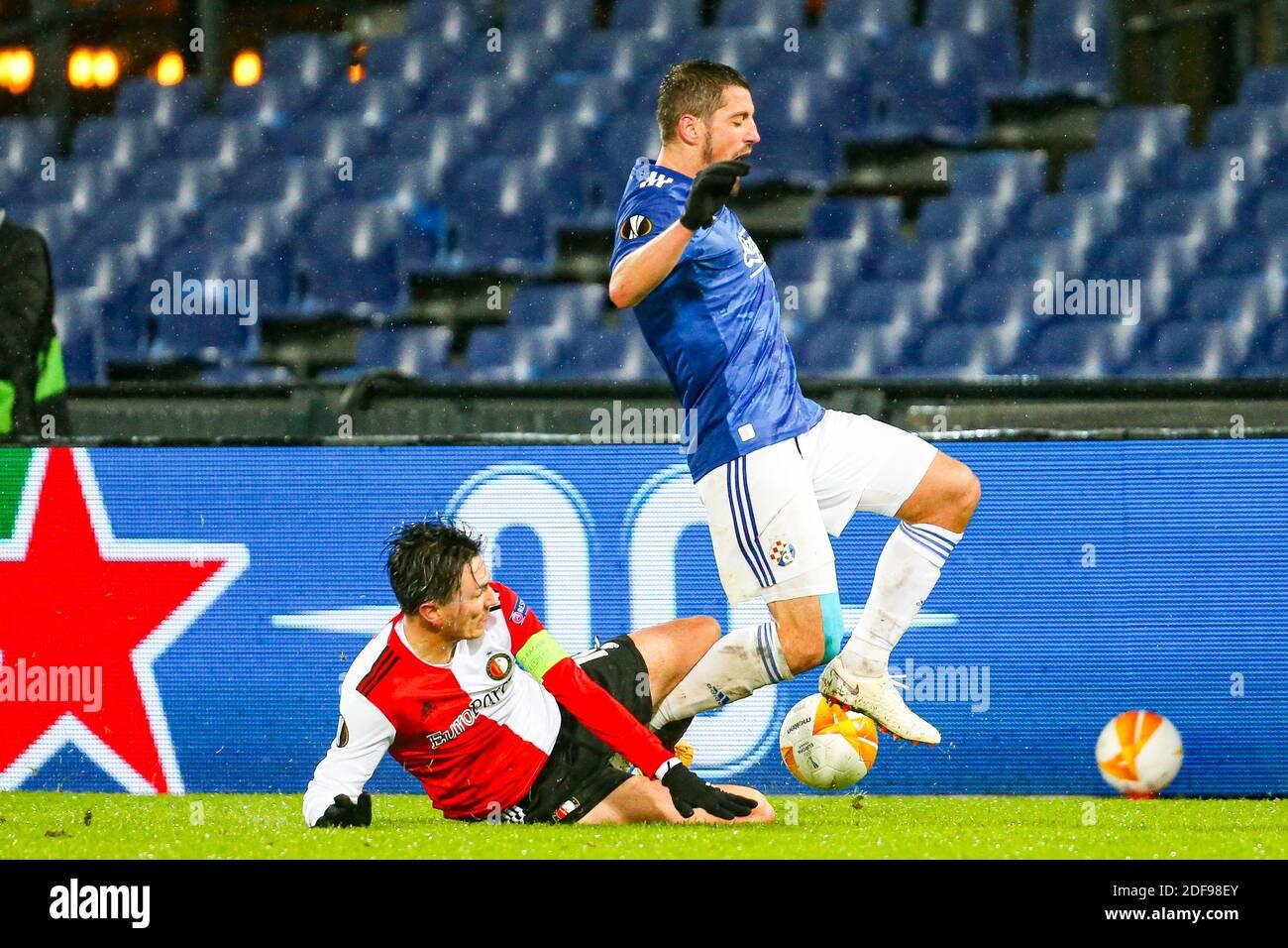 Rotterdam 03 12 2020 Stadium De Kuip Europa League Group Stage Football Season 2020 2021 Feyenoord