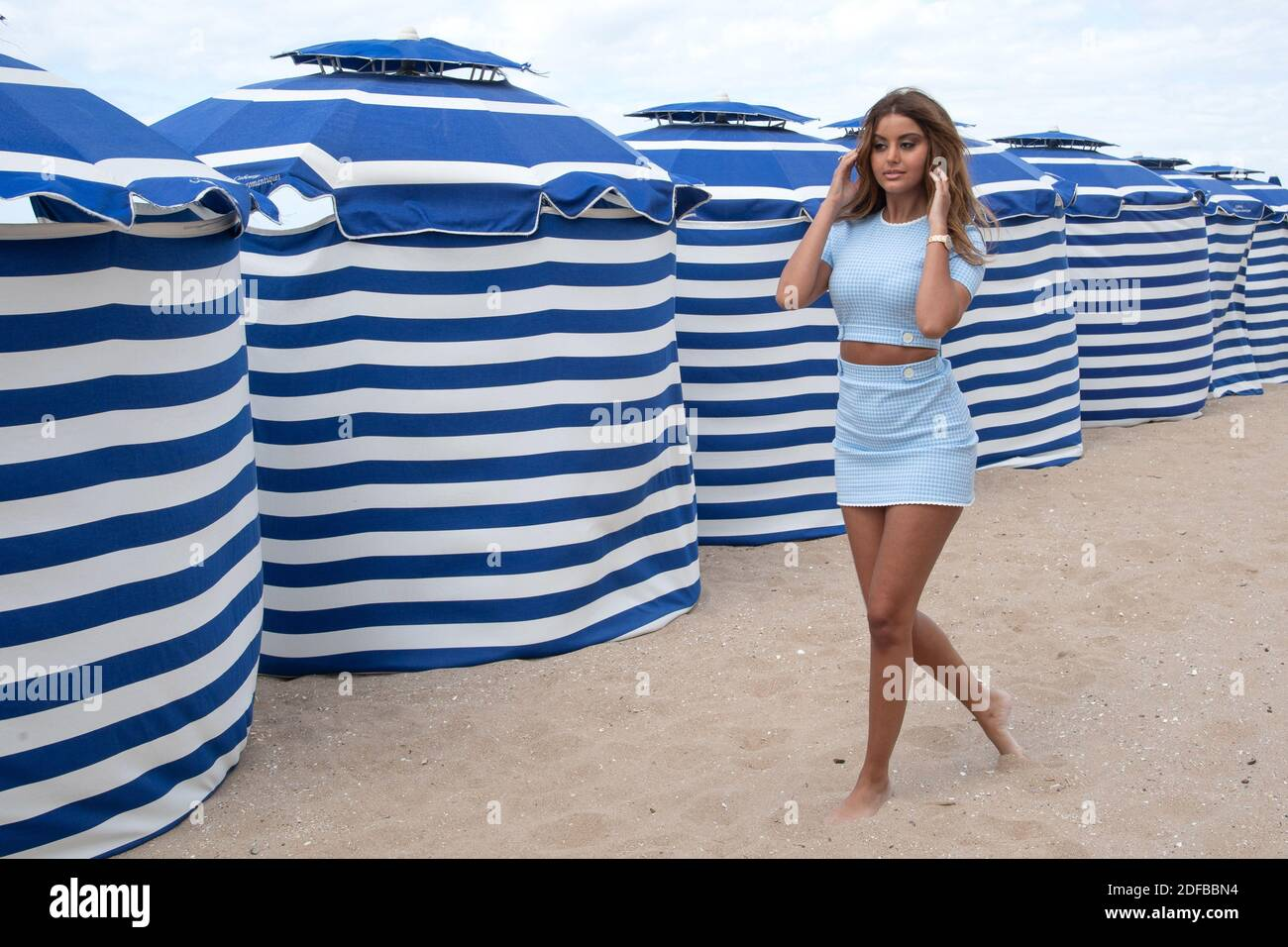 Beach zahia dehar Underage prostitute