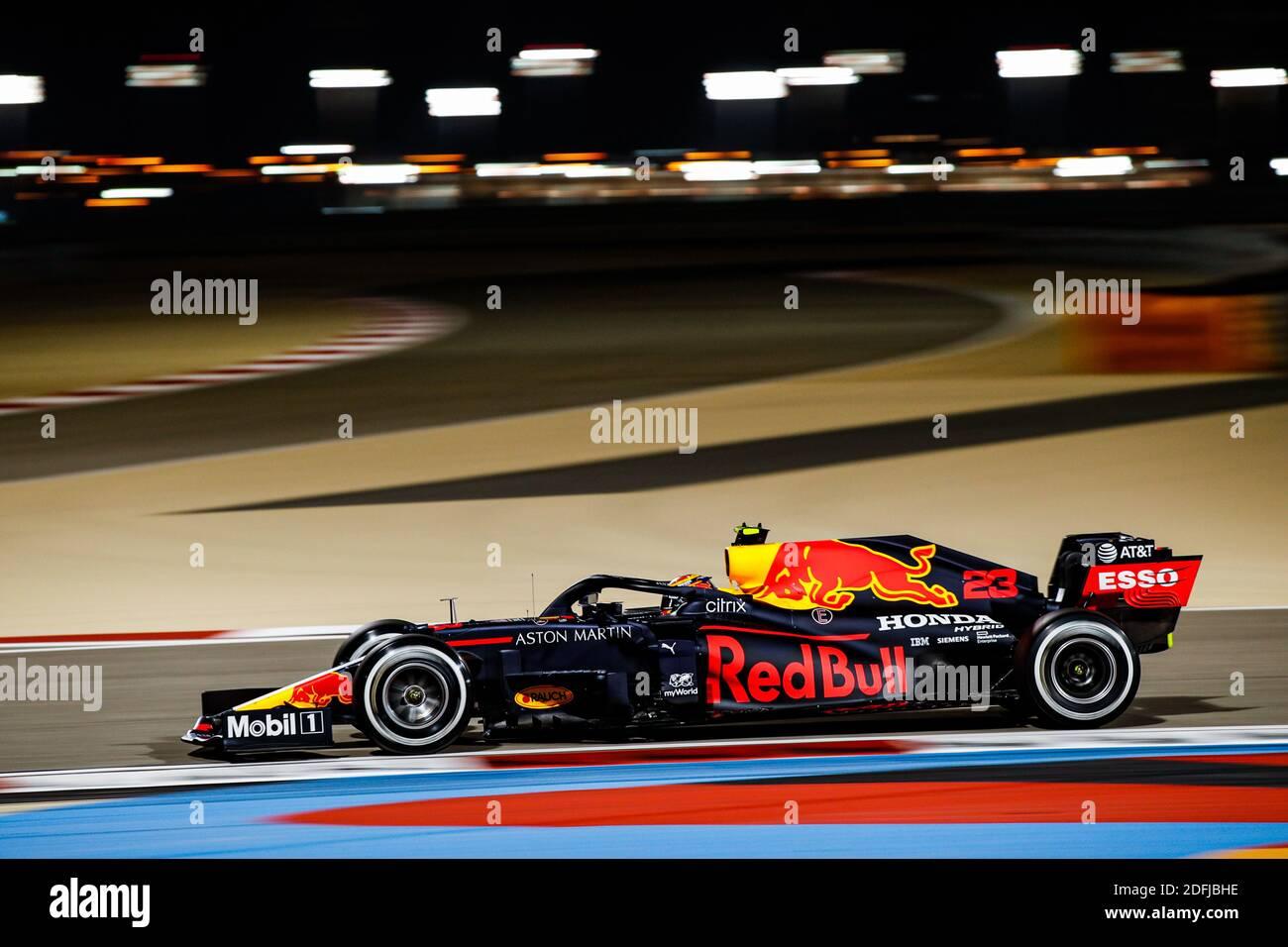 23 Albon Alexander Tha Aston Martin Red Bull Racing Honda Rb16 Action During The Formula 1