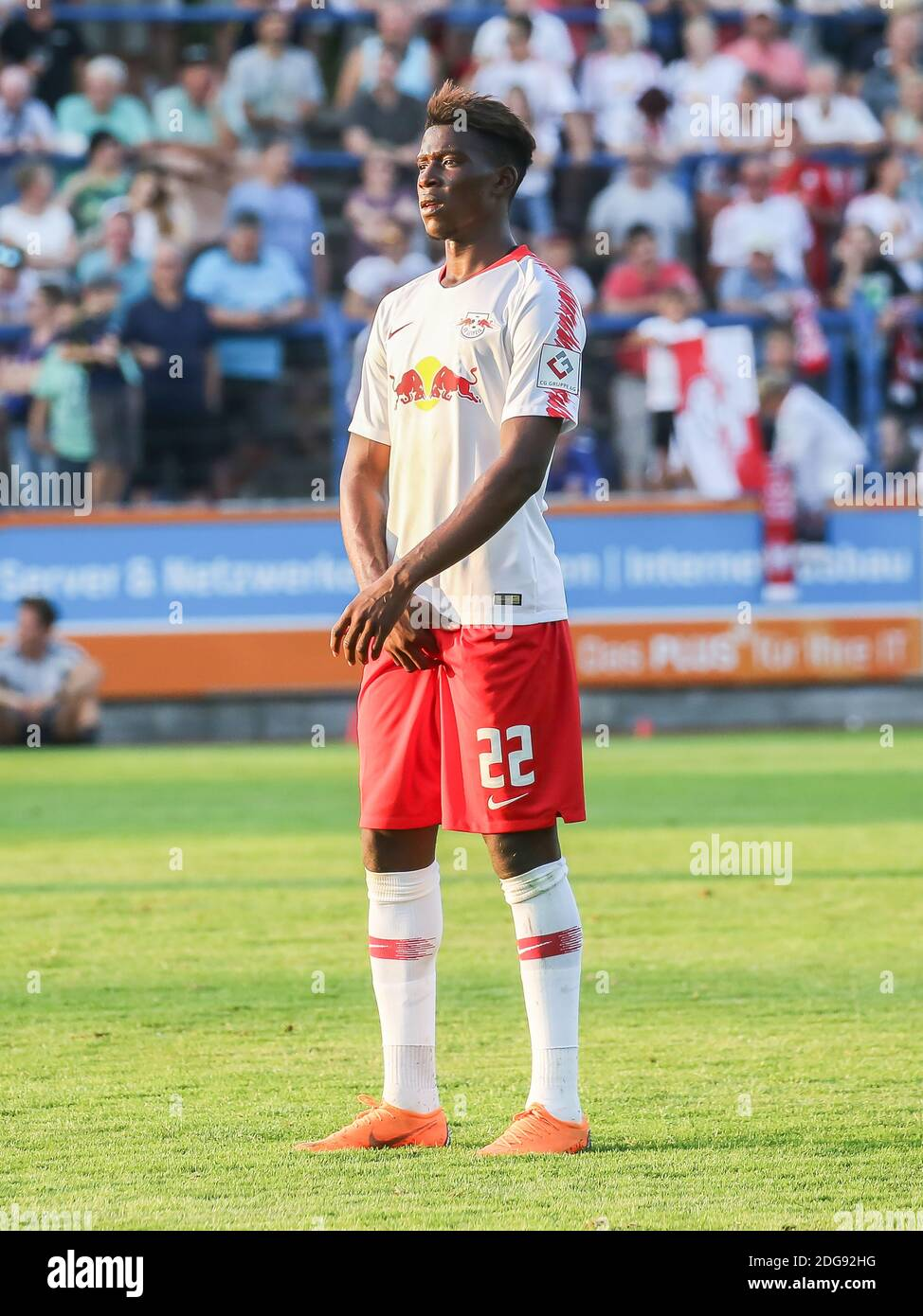 Nordi Mukiele Rb Leipzig High Resolution Stock Photography and ...