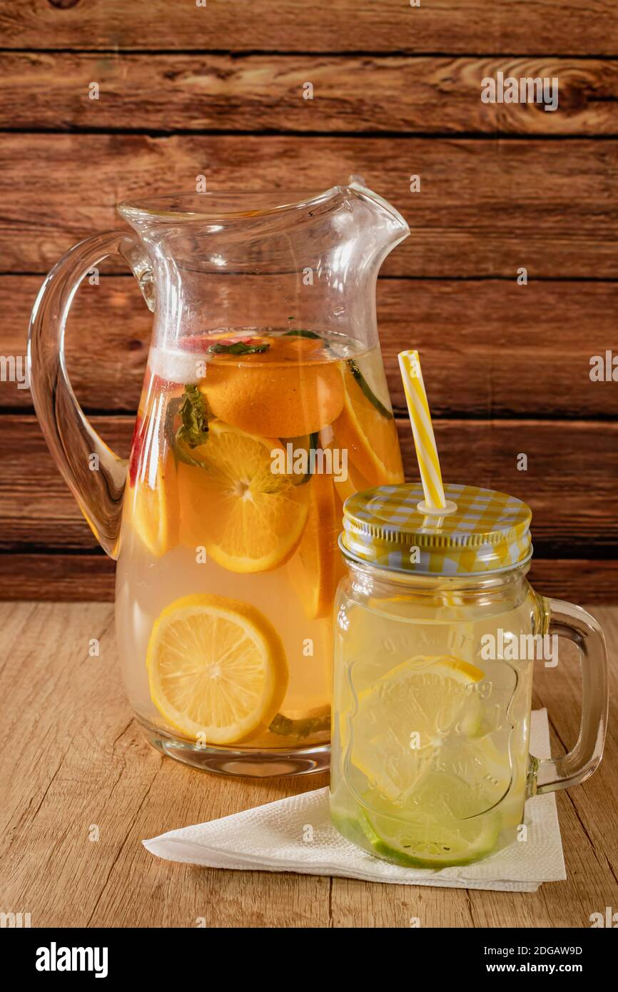 Non Alcoholic Cocktail Jug High Resolution Stock Photography And Images Alamy
