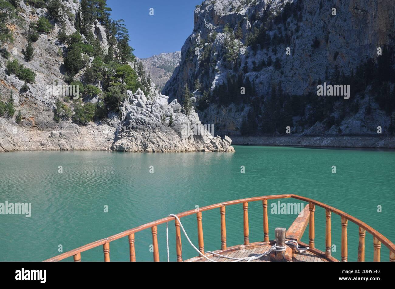 Green Canyon, Türkei Stock Photo