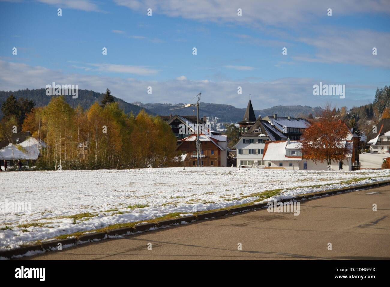 Titisee In Autumn High Resolution Stock Photography And Images Alamy