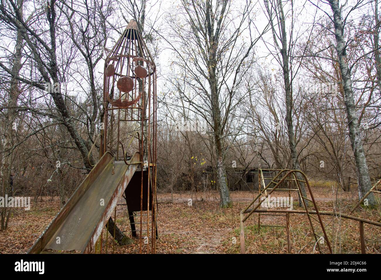 Chernobyl Playground High Resolution Stock Photography And Images Alamy