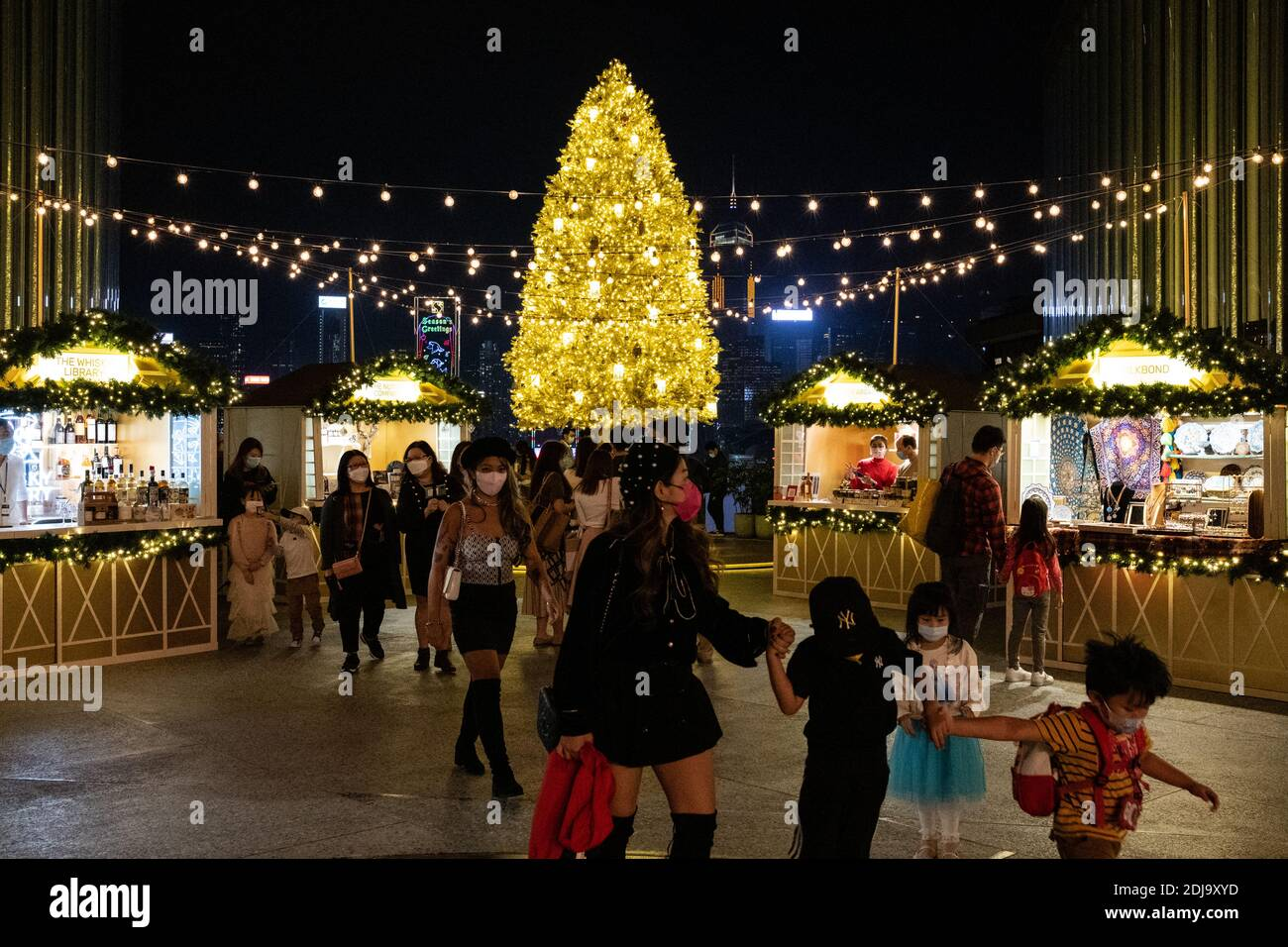 Tyrone Mall Christmas Day 2021 Christmas Decorations Shopping Mall Hong High Resolution Stock Photography And Images Alamy