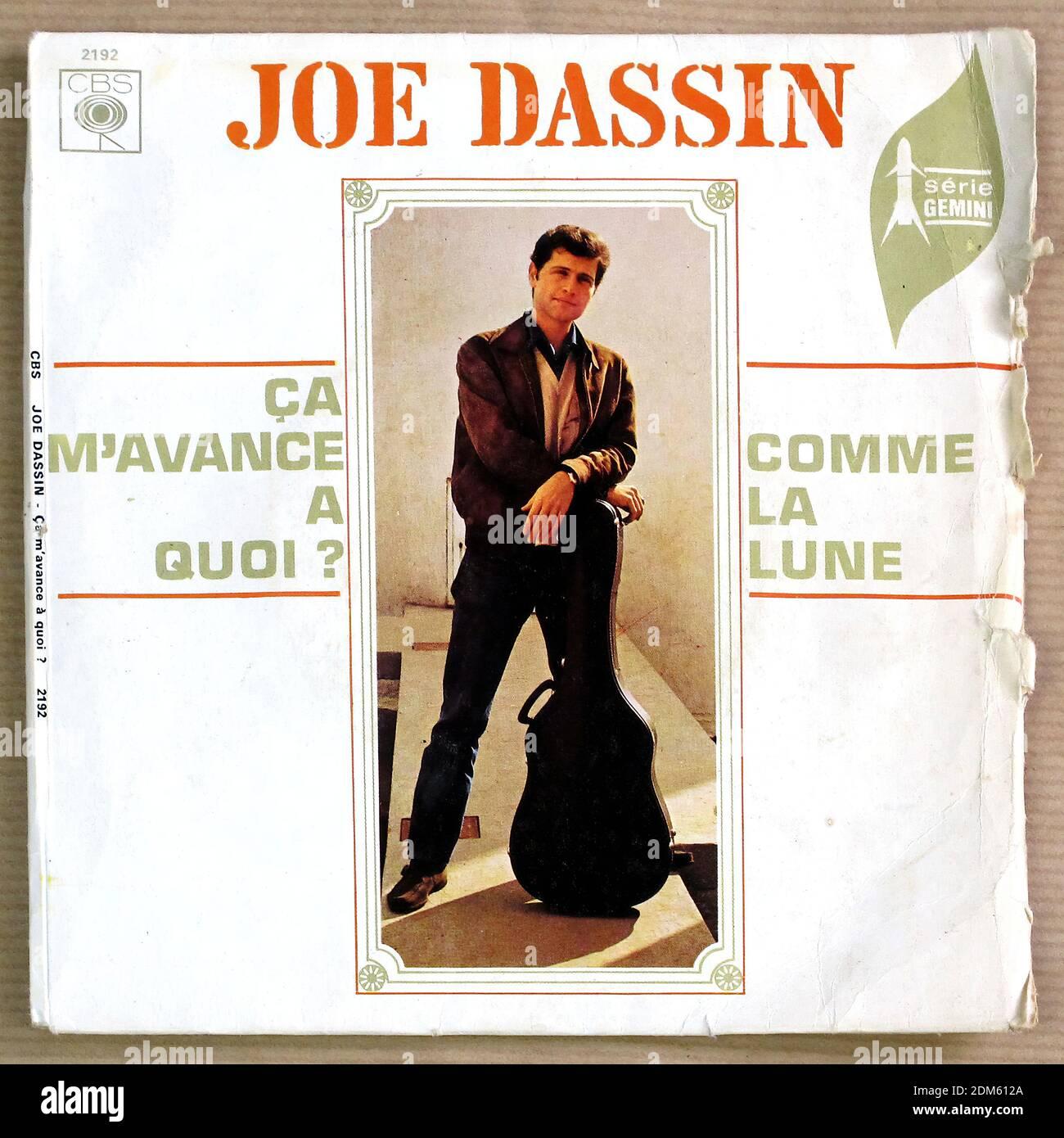 Joe Dassin Stock Photo Alamy