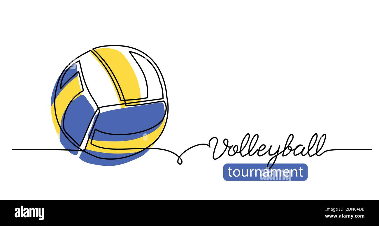 Volleyball Sketch High Resolution Stock Photography And Images Alamy