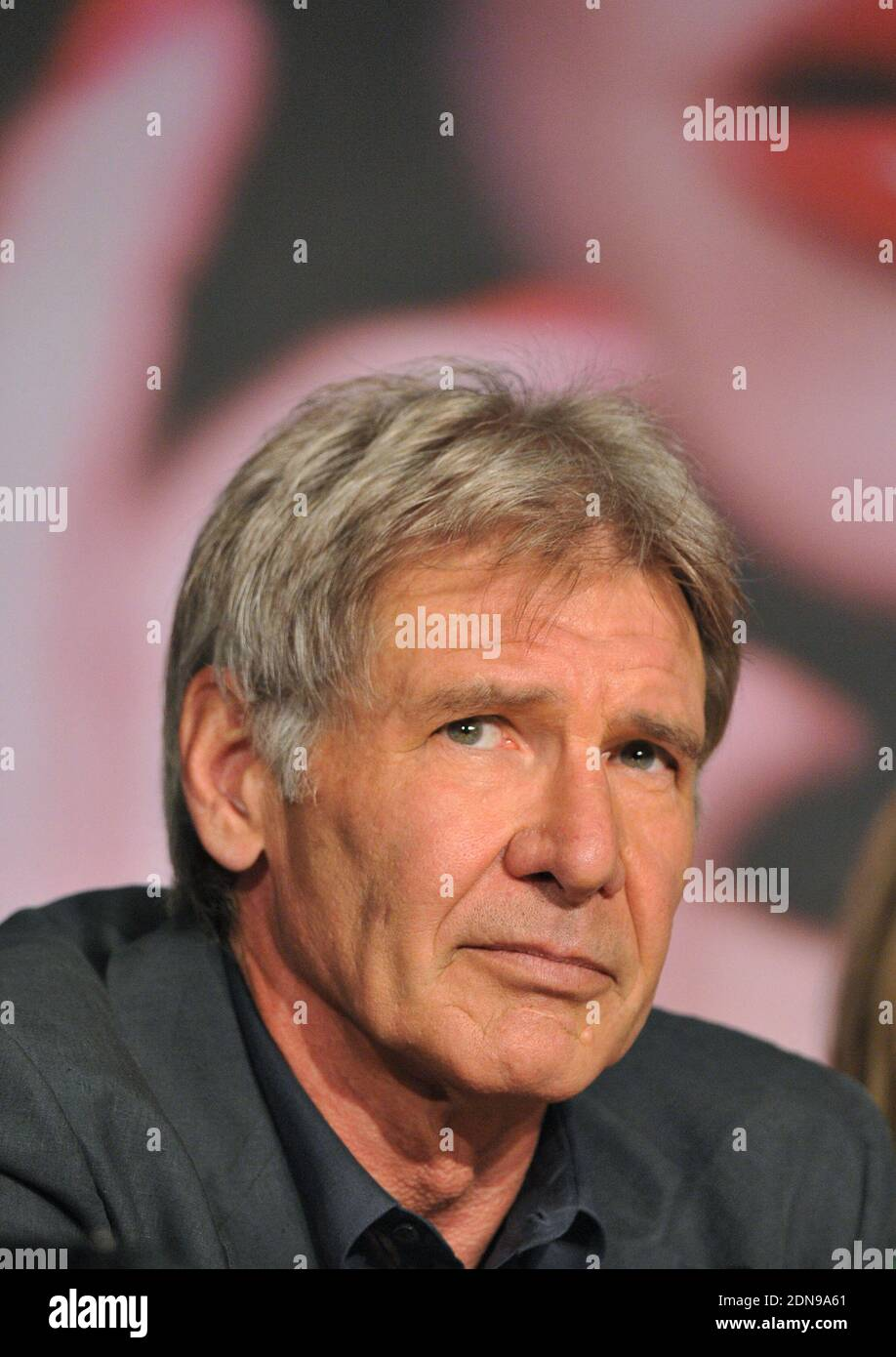 File Photo Harrison Ford Attends A Press Conference For The Film Indiana Jones And The Kingdom Of The Crystal Skull At The Palais Des Festivals During The 61st International Cannes Film