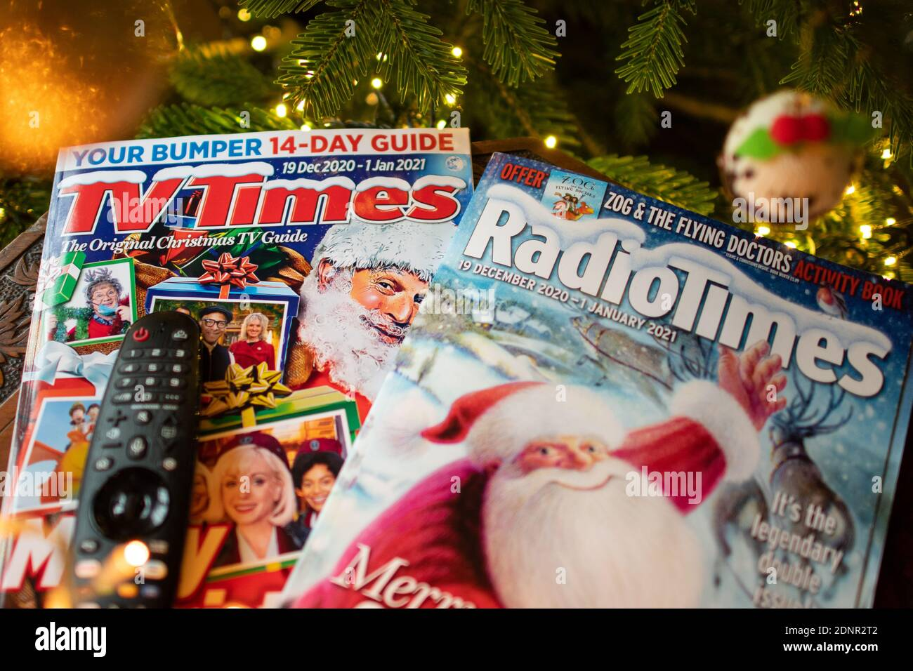 Christmas Television Guide 2021 Tv Times Magazine High Resolution Stock Photography And Images Alamy