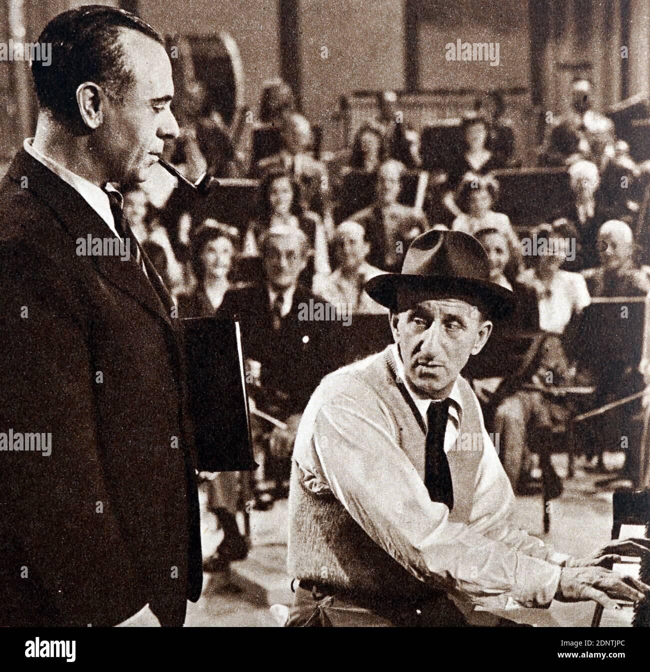 Jose Iturbi Spanish conductor pianist antique photo
