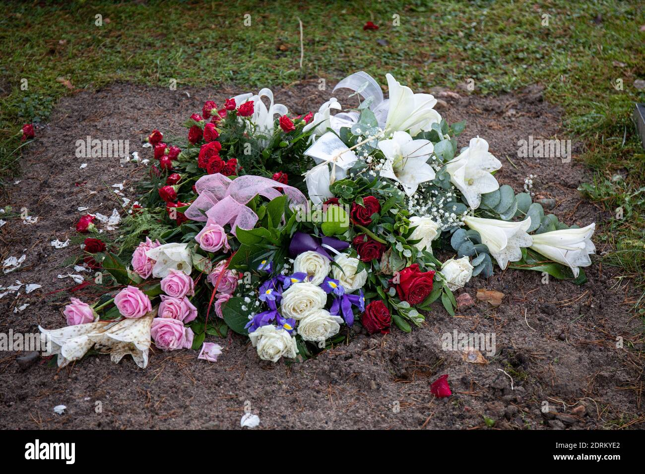 Funeral Flowers High Resolution Stock Photography And Images Alamy