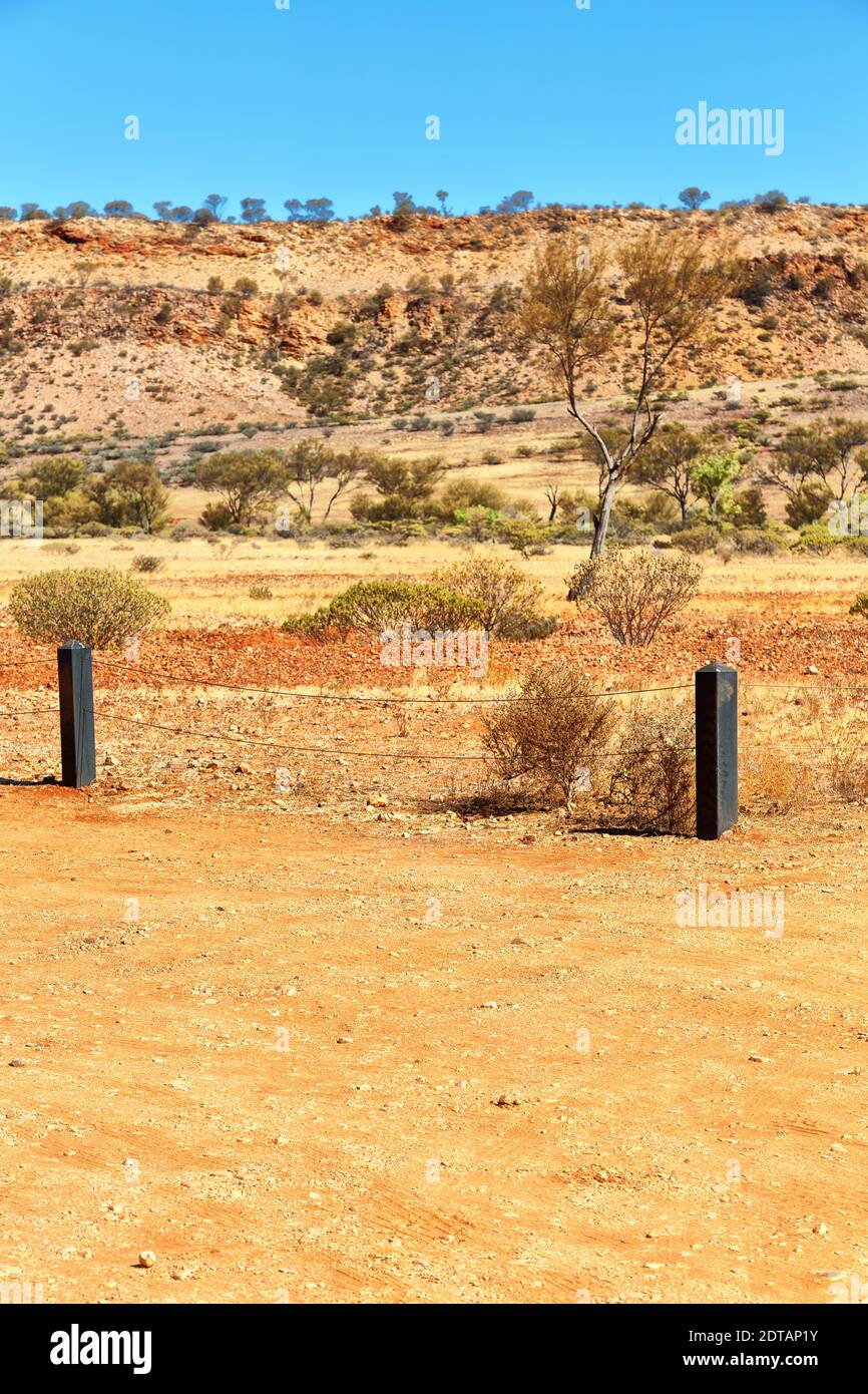 in  australia   the  meteorite fall  nature wild   and outback Stock Photo
