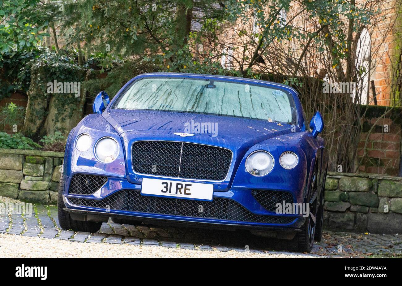 Blue Bentley High Resolution Stock Photography And Images Alamy