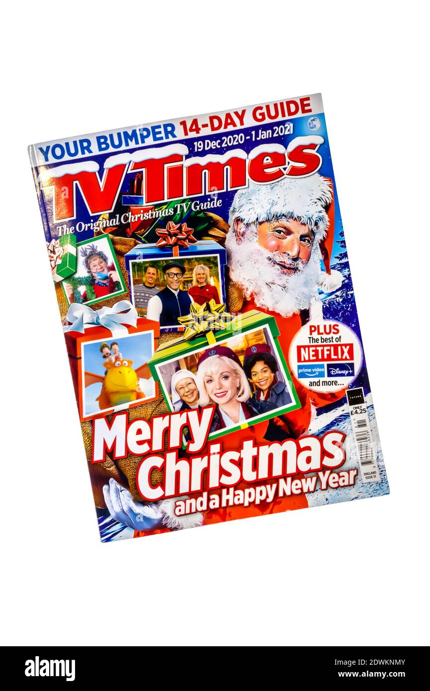 Christmas Television Guide 2021 Tv Listings High Resolution Stock Photography And Images Alamy