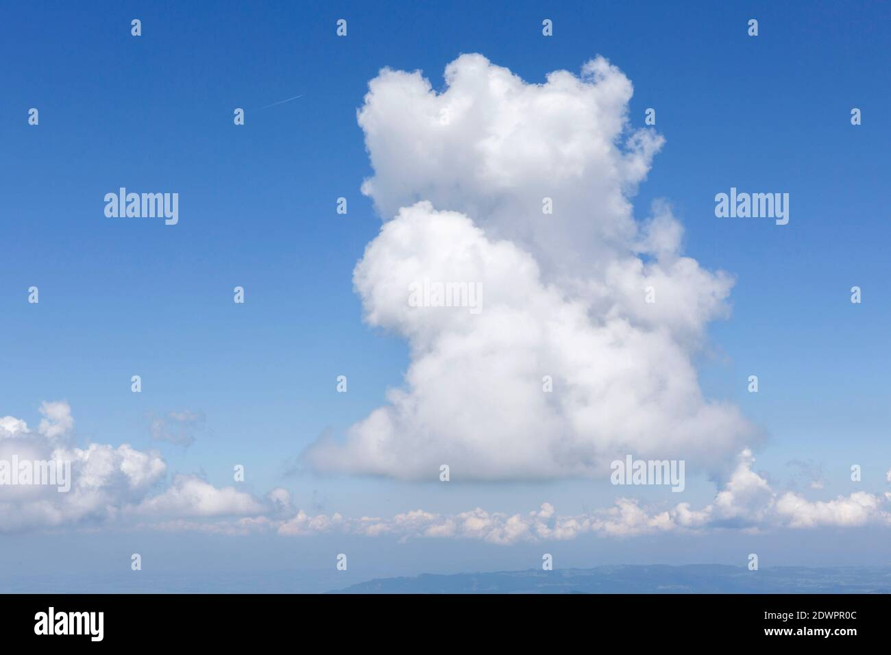 Wolken, Wetter Stock Photo