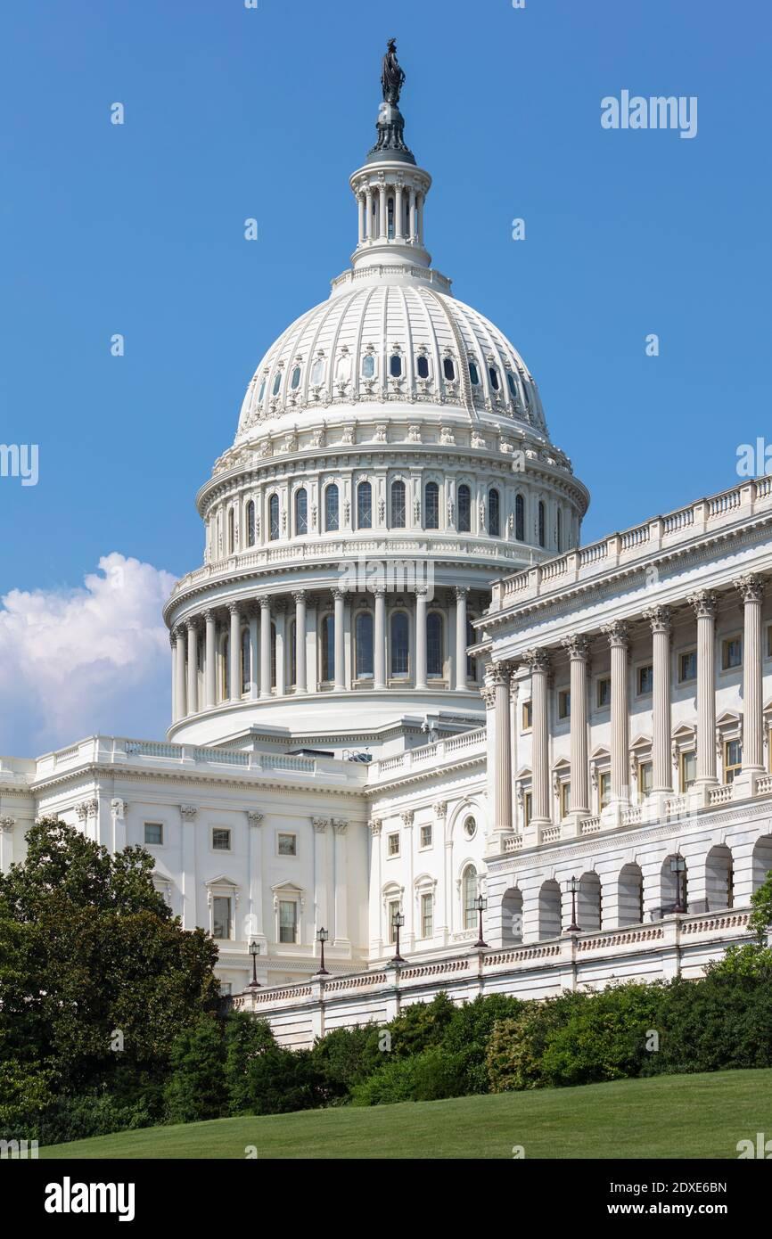 USA, Washington DC, United States Capitol on Capitol Hill Stock Photo
