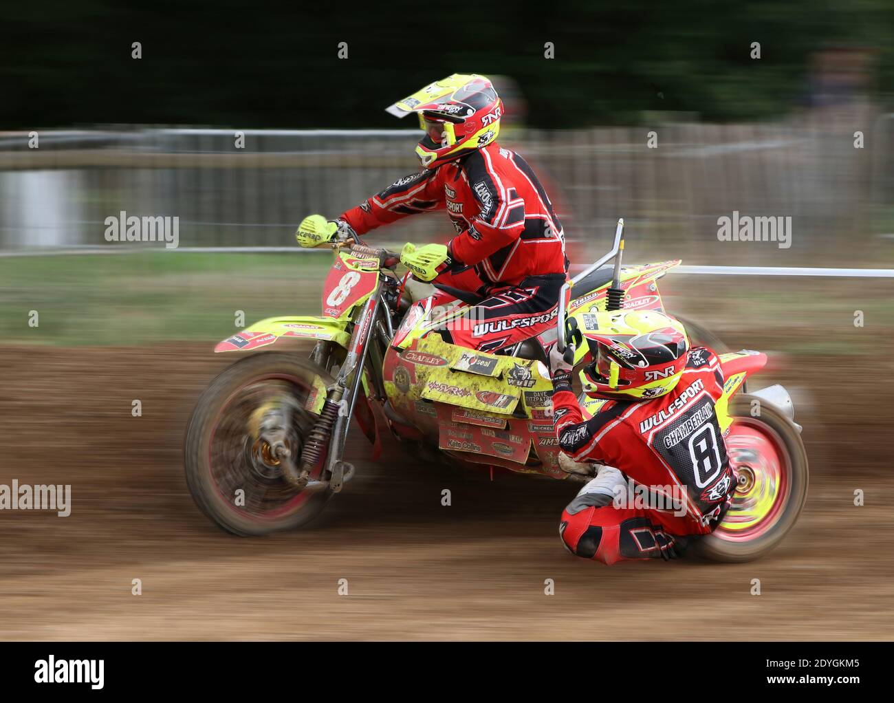 Sidecar Motocross Racing High Resolution Stock Photography And Images Alamy