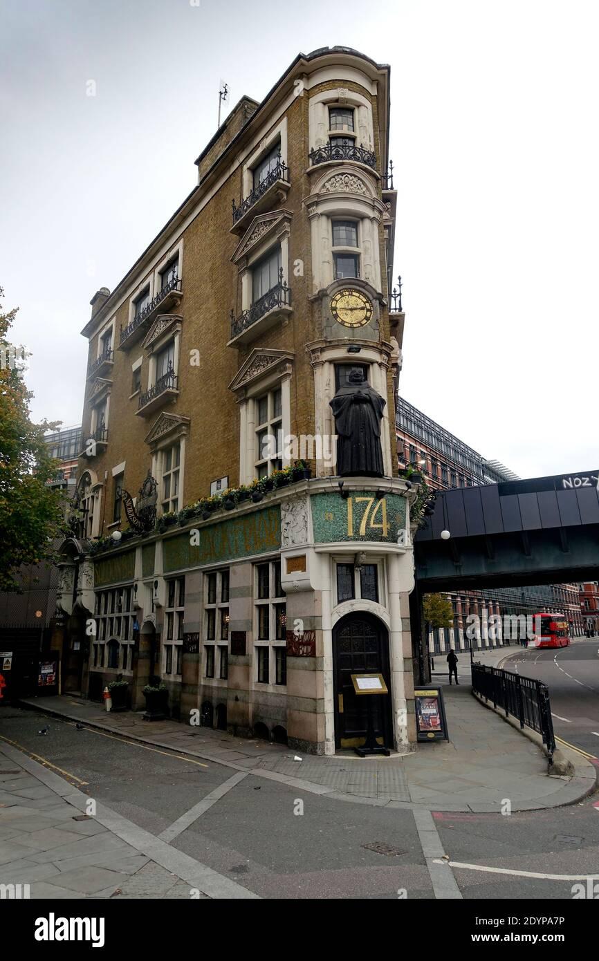 The Black Friar, London, England, UK. Stock Photo
