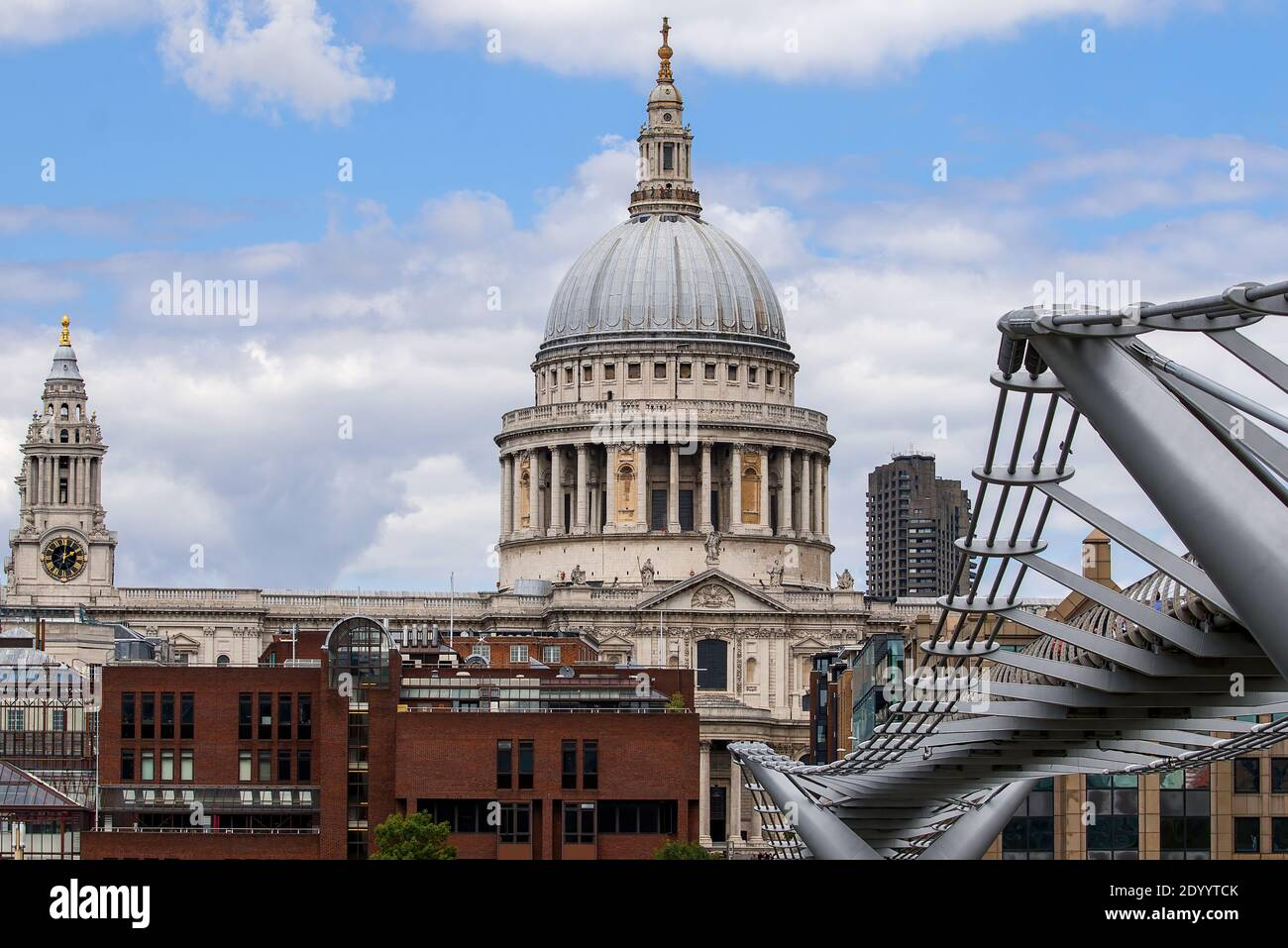 London, UK - April 20, 2020: St Paul's Cathedral in London, UK. Stock Photo