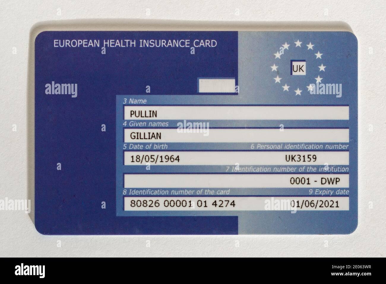 ehic card european health insurance card uk 2E063WR - Ehic Card Application Under 16