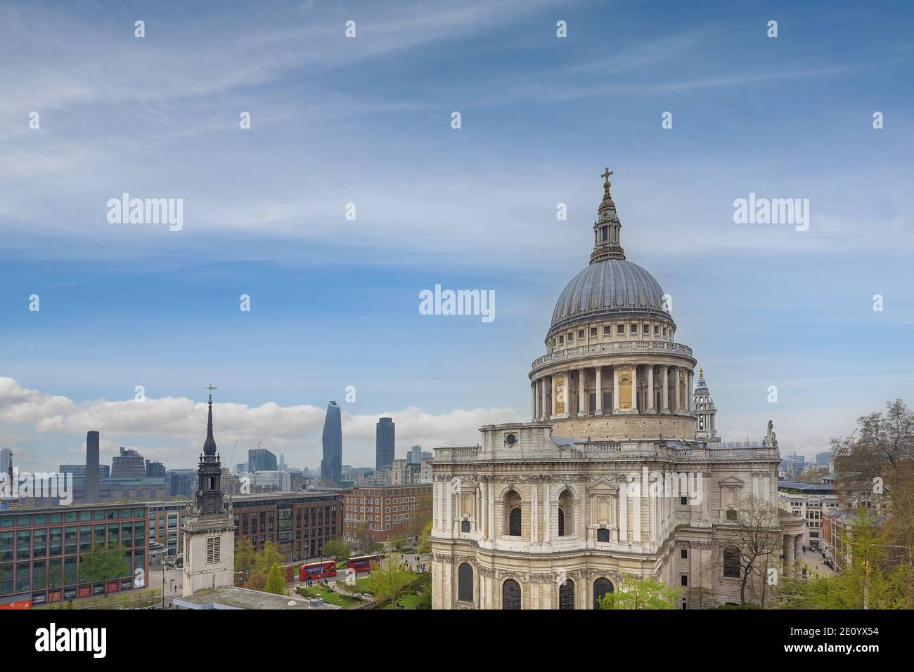 St Paul's Cathedral in London, UK. Stock Photo