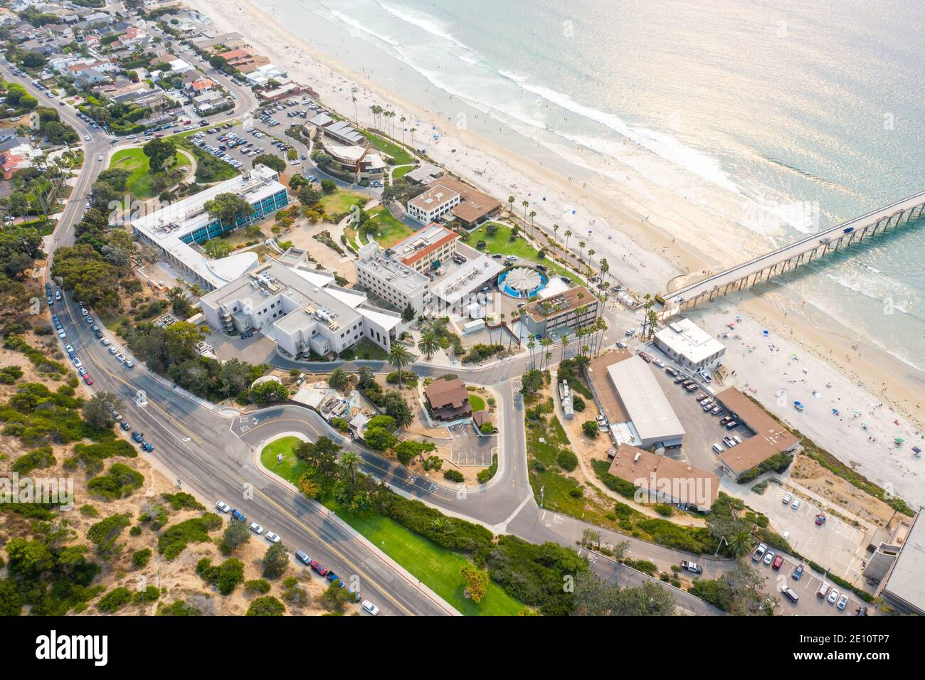 Scripps Institution of Oceanography, San Diego, CA, USA Stock Photo