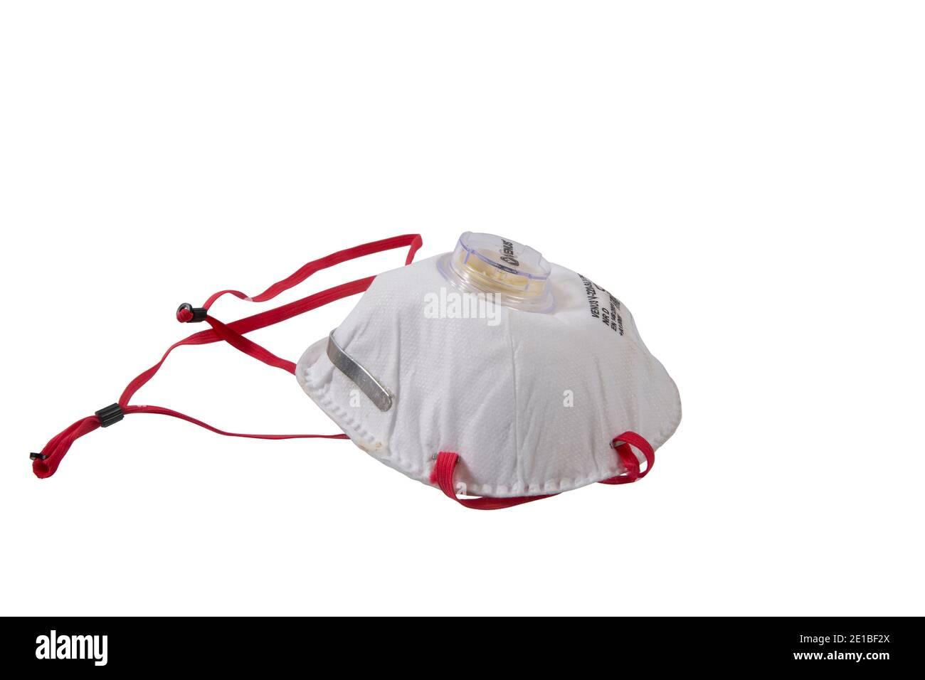 Mund-Nasen-Maske FSP-2 Schutzmaske gegen Viren wie z. B. Covid-19 Stock Photo