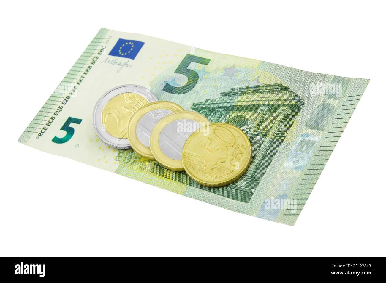Mindestlohn 9,50 Euro Januar 2021 Stock Photo