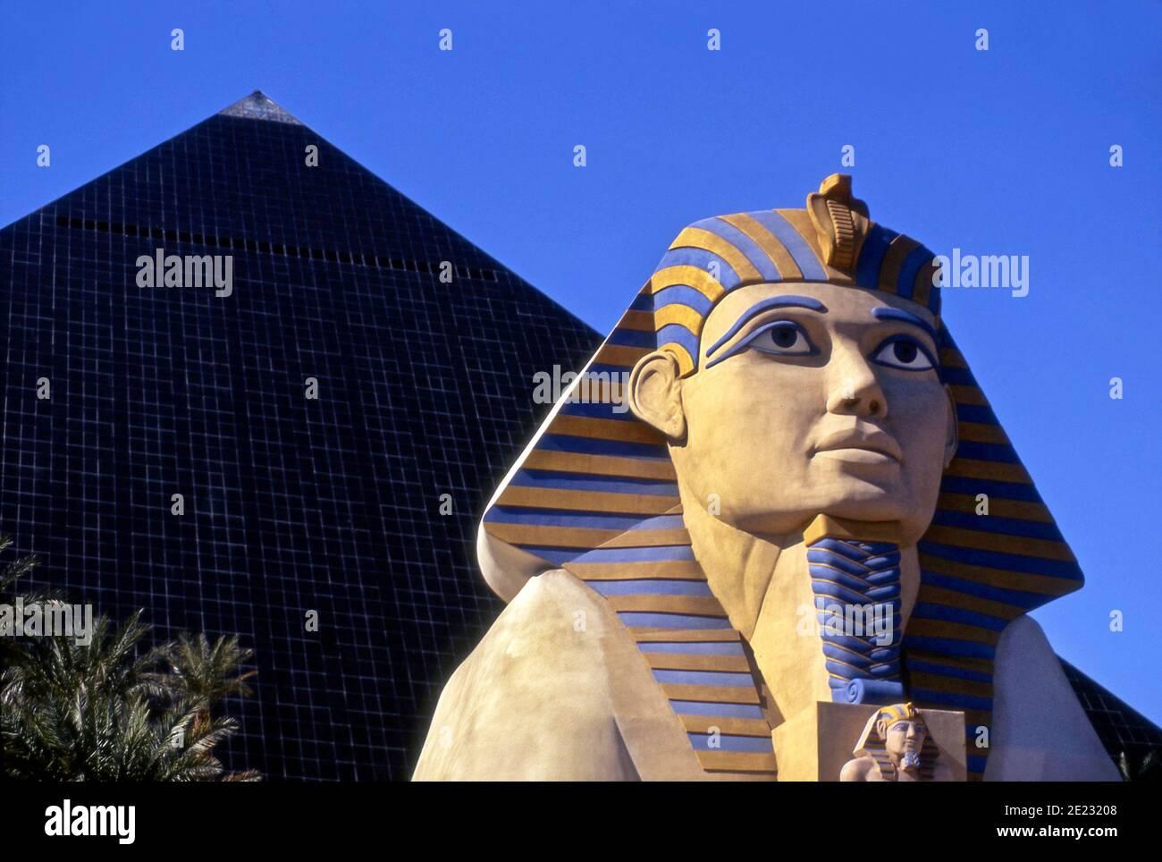 Luxor Hotel, Las Vegas, Nevada Stock Photo