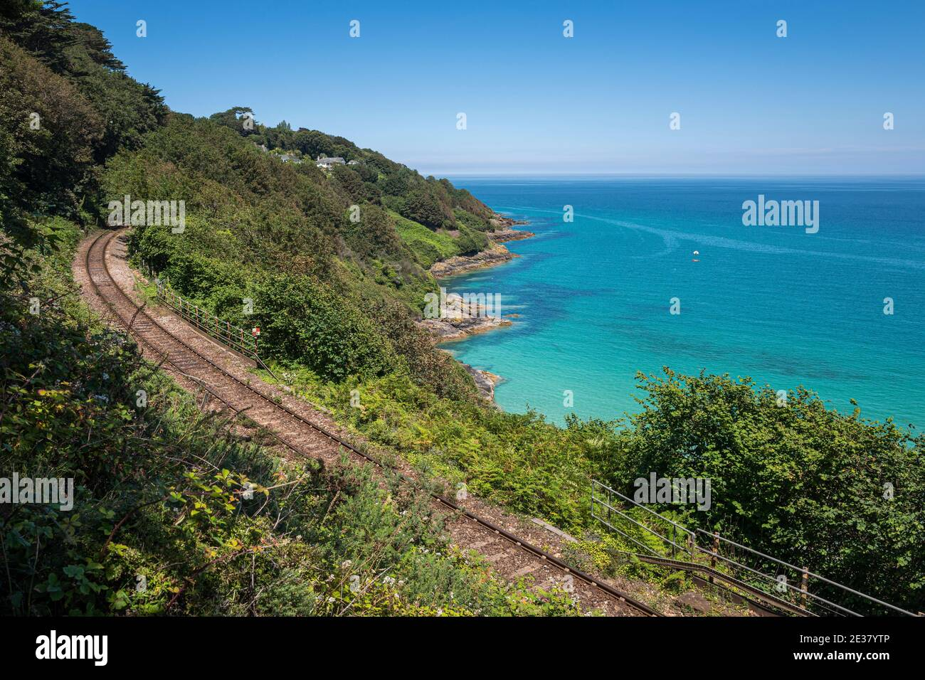 Carbis Bay, Cornwall, United Kingdom is to host the G7 summit of world leaders in June 2021. Stock Photo