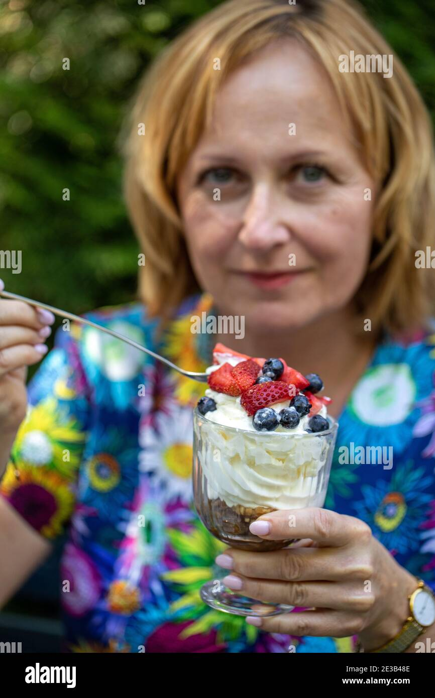 Naked fat girl sundae Fat Woman Holiday High Resolution Stock Photography And Images Alamy