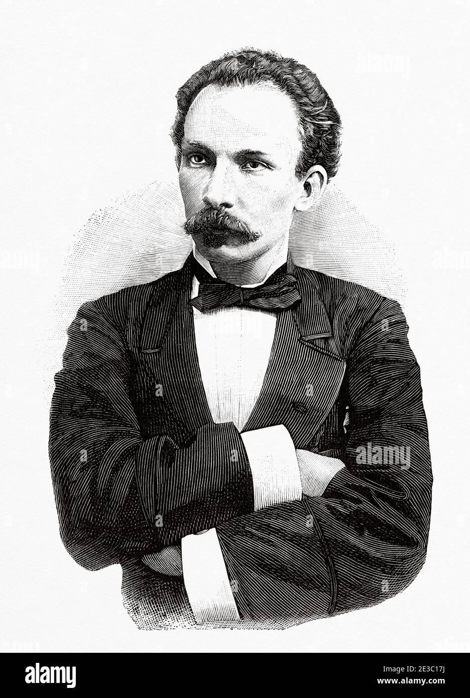 HistoricalFindings Photo: Jose Marti National Hero of Cuba 1890s,Marti Jose