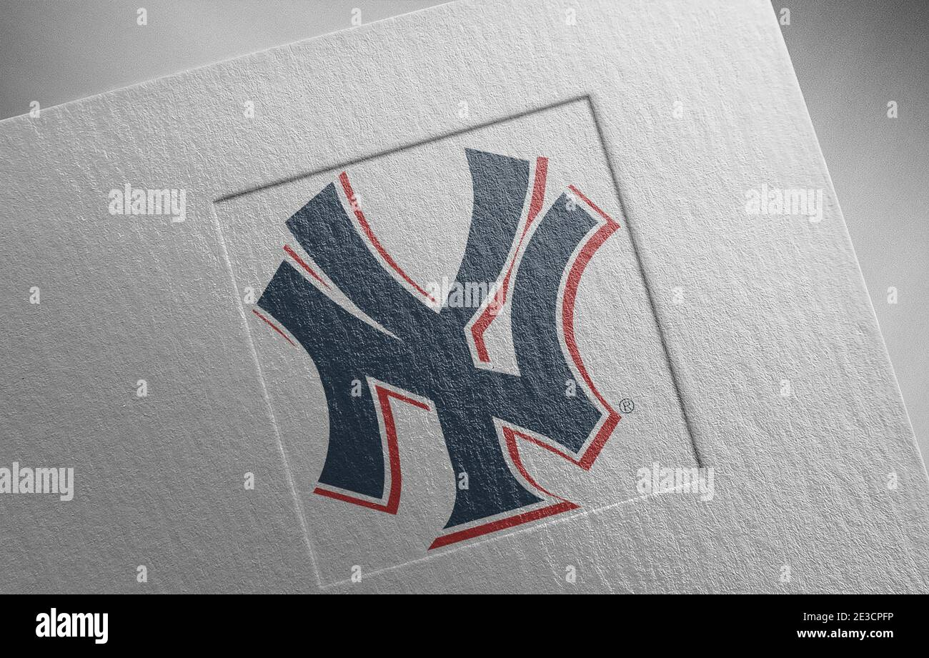 Yankees Logo High Resolution Stock Photography And Images Alamy