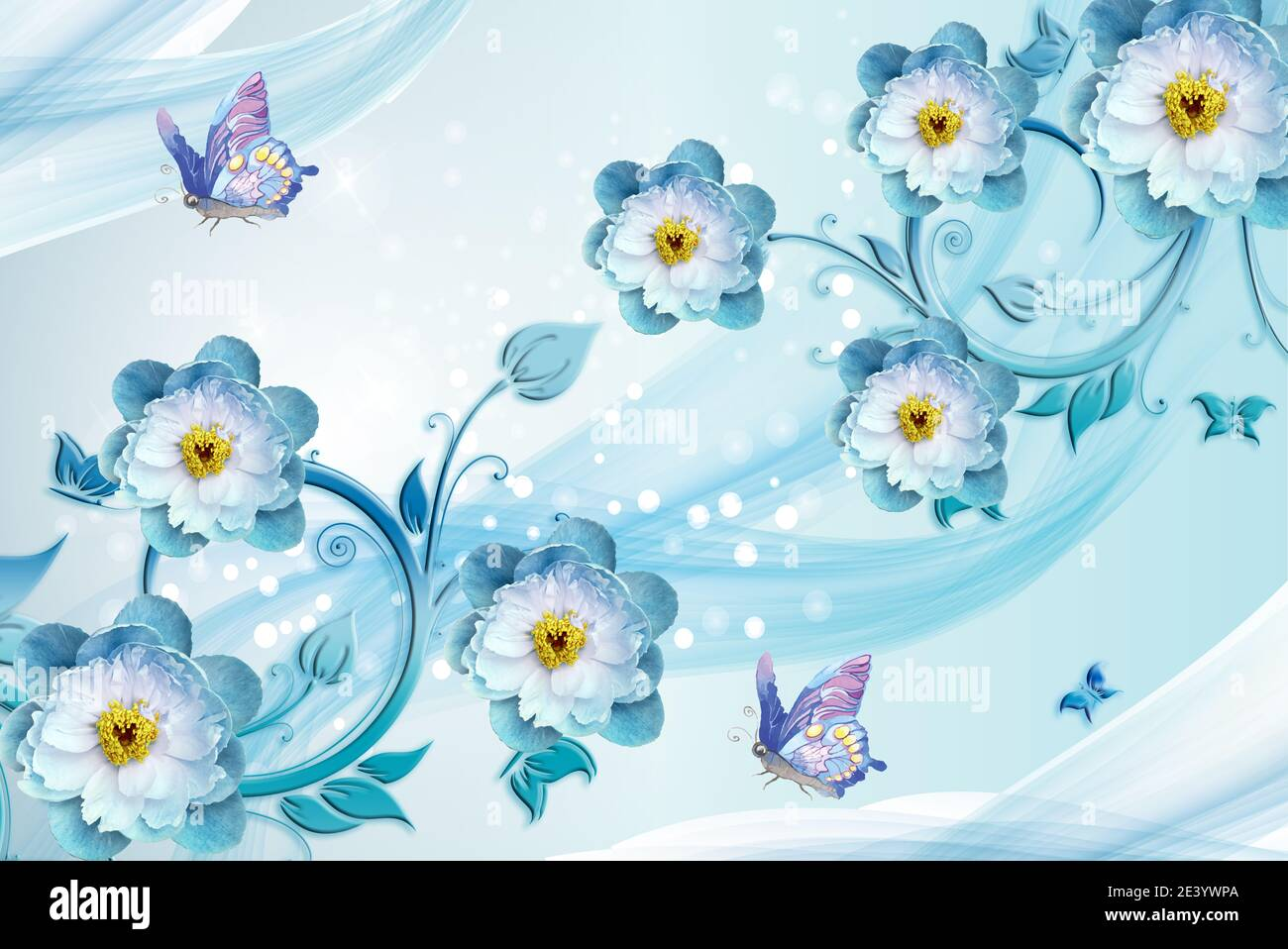 3d Wallpaper Home High Resolution Stock Photography And Images Alamy