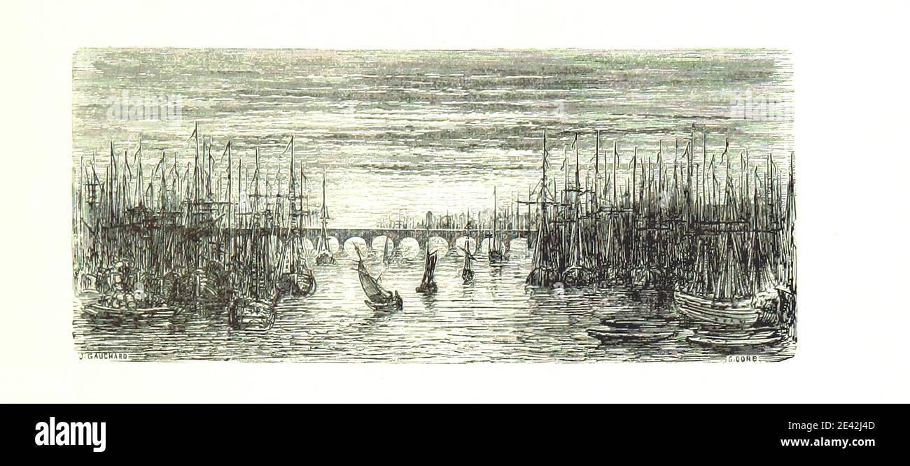Image taken from page 21 of 'Voyage aux Pyrénées ... Troisième édition illustrée par Gustave Doré' Stock Photo
