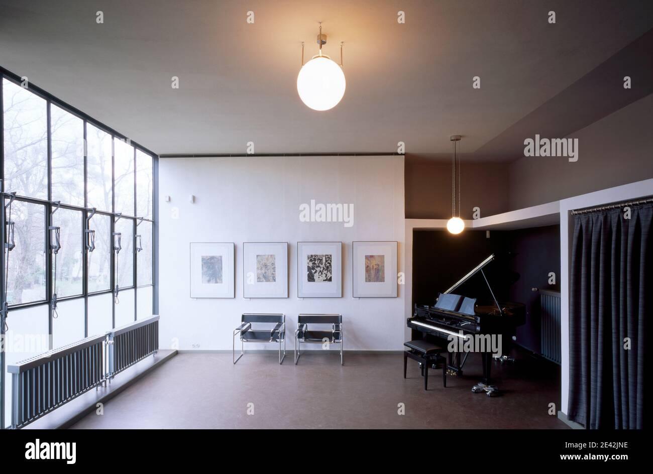 Feininger-Haus, Atelier Stock Photo