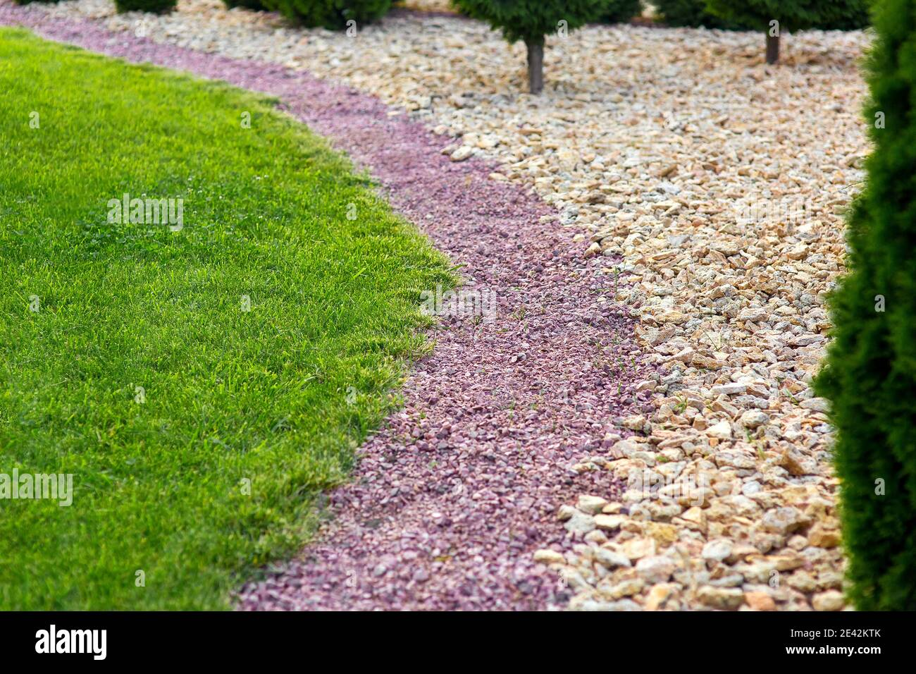 Stone Mulching High Resolution Stock Photography And Images Alamy