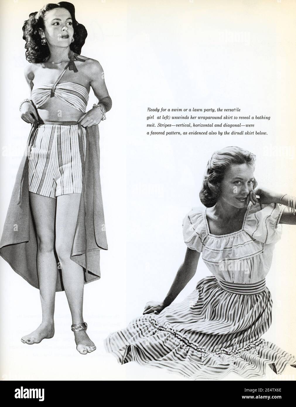 1940s Fashion Advert High Resolution Stock Photography And Images Alamy
