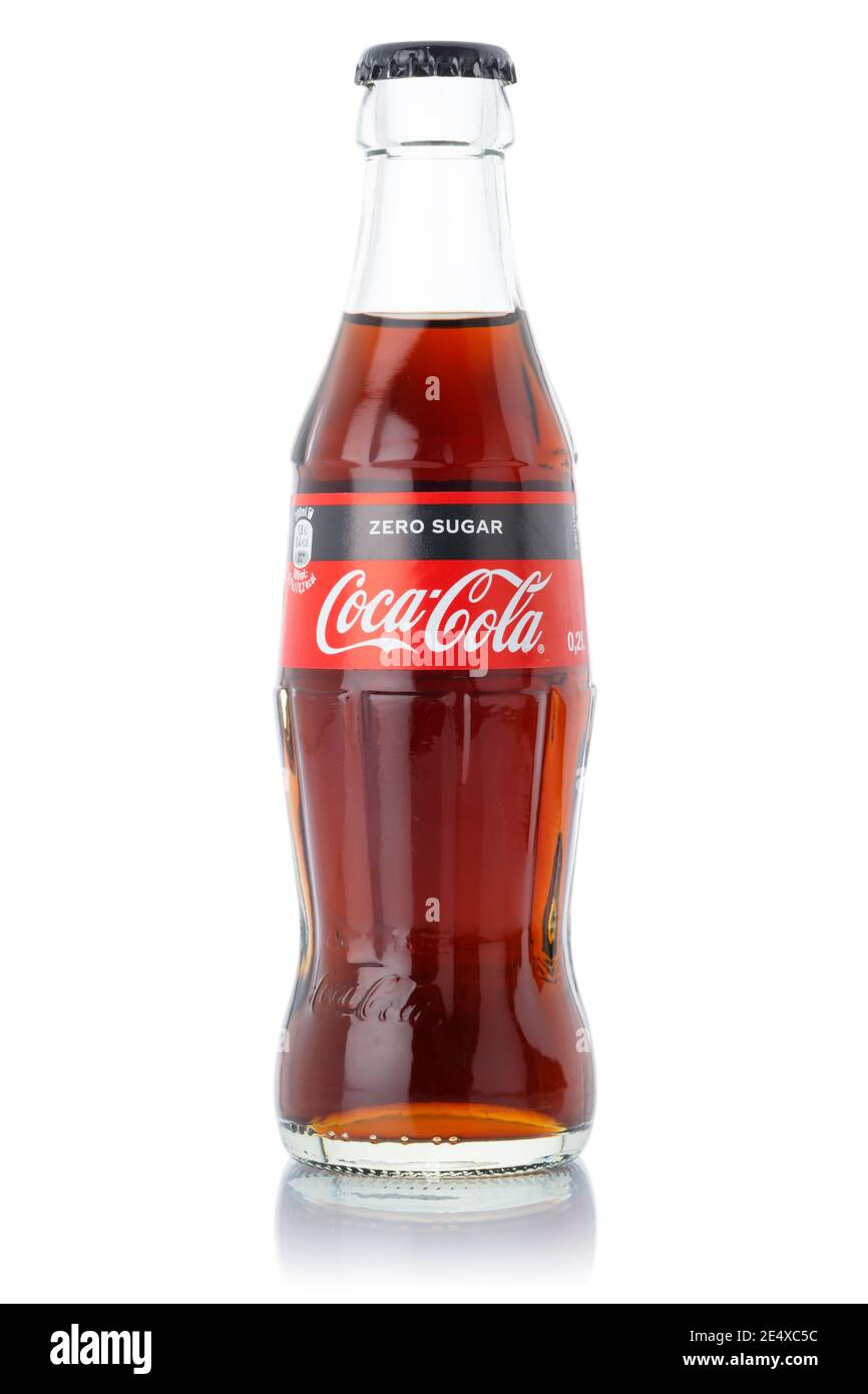 Christmas Limited Edition Coke Bottles 2021 Coke Bottle Cut Out Stock Images Pictures Alamy